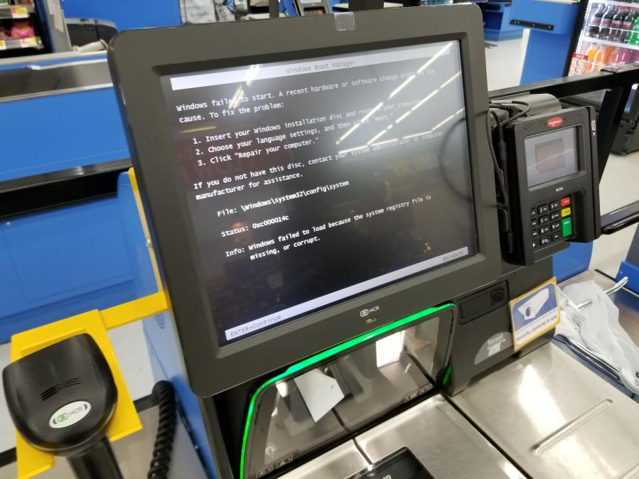 K116 Self Checkout